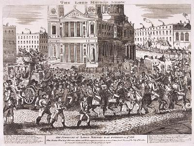 Lord Mayor's Show, 1816--Giclee Print