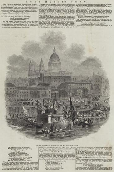 Lord Mayor's Show--Giclee Print