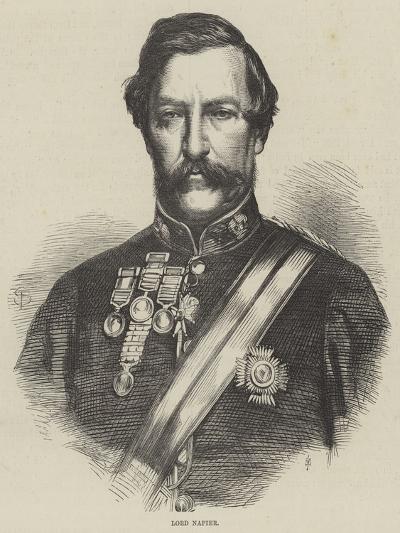 Lord Napier--Giclee Print