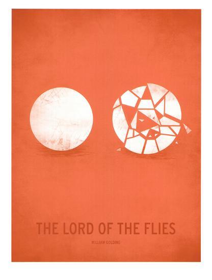 Lord of the Flies-Christian Jackson-Art Print