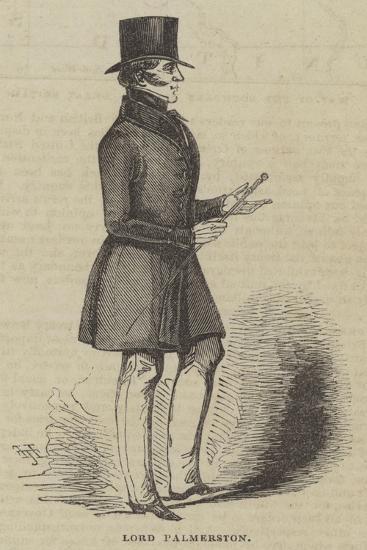 Lord Palmerston--Giclee Print