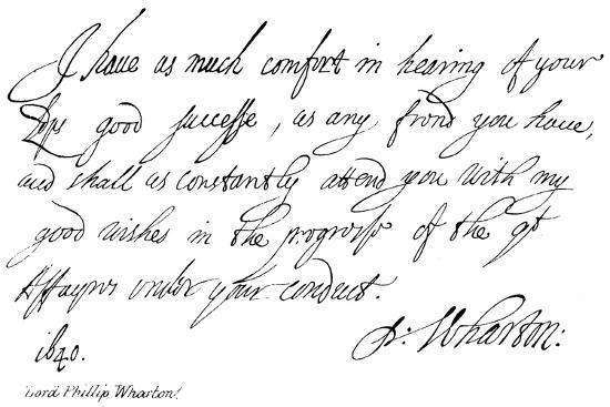 Lord Phillip Wharton--Giclee Print