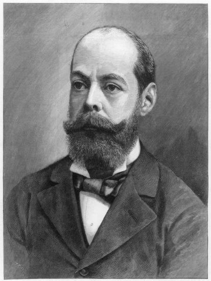 Lord Randolph Henry Spencer Churchill, British Statesman, 1895--Giclee Print