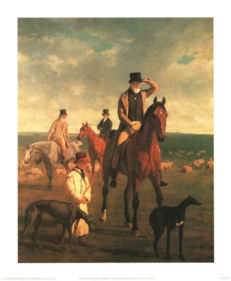 Lord Rivers-Jacques-Laurent Agasse-Art Print