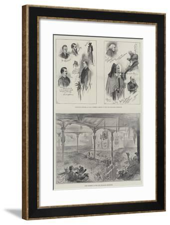 Lord Rosebery in Edinburgh-William A. Donnelly-Framed Giclee Print