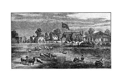 Lord's Cricket Ground, London, 1836--Giclee Print