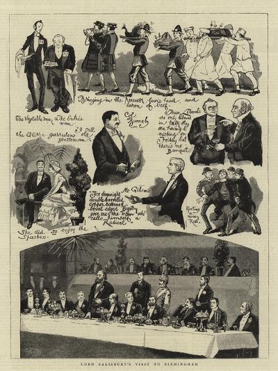 Lord Salisbury's Visit to Birmingham--Giclee Print