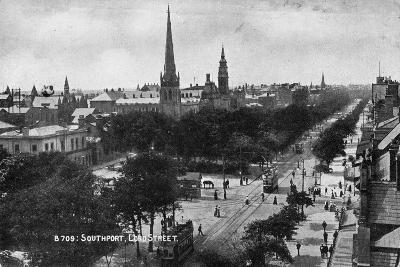 Lord Street, Southport, Lancashire, C1900s--Giclee Print
