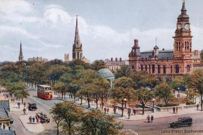 Lord Street, Southport-Alfred Robert Quinton-Giclee Print