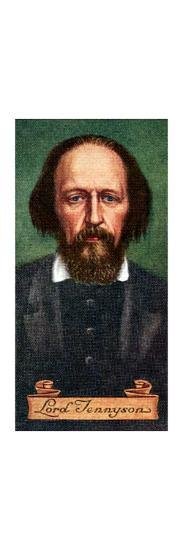 Lord Tennyson, taken from a series of cigarette cards, 1935. Artist: Unknown-Unknown-Giclee Print