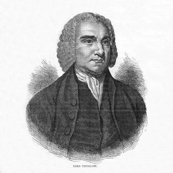 Lord Thurlow, British lawyer and Tory politician, c1800 (1878)-Unknown-Giclee Print