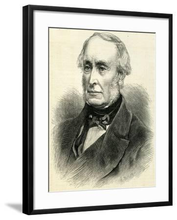 Lord William Armstrong (1810-1900) from 'The Illustrated London News' 23rd August, 1884--Framed Giclee Print