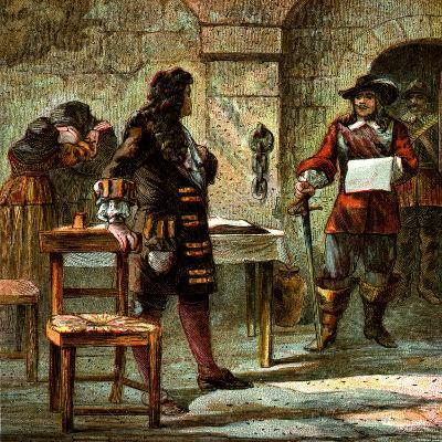 Lord William Russell Condemned, 1683--Giclee Print