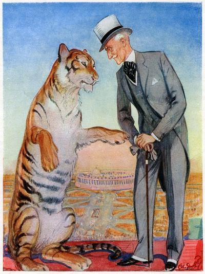 Lord Willingdon and Friend, 1934--Giclee Print
