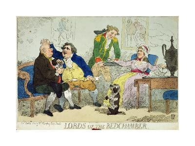 Lords of the Bedchamber, 1784--Giclee Print