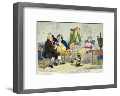 Lords of the Bedchamber, 1784--Framed Giclee Print