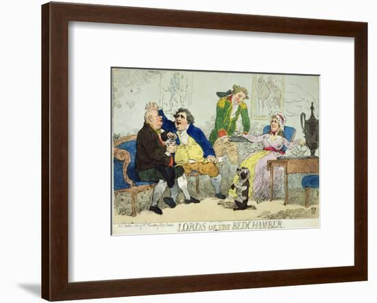 Lords of the Bedchamber, 1784--Framed Giclee Print
