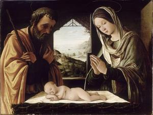 La Nativité by Lorenzo Costa