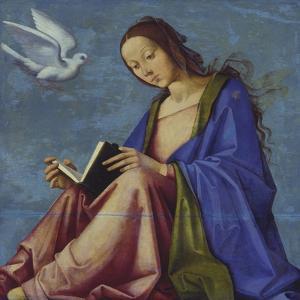 Mary Reading by Lorenzo Costa