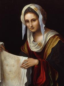 Saint Veronica by Lorenzo Costa