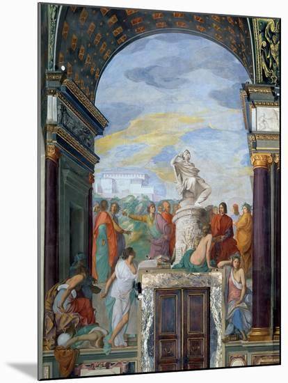 Lorenzo De' Medici-Giovanni Mannozzi-Mounted Giclee Print