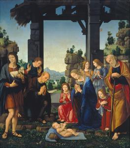 Adoration of the Shepherds, C. 1500-10 by Lorenzo di Credi