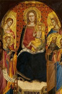 Virgin and Child with Four Saints by Lorenzo di Niccolo Gerini