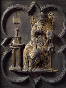 Church Father, Panel by Lorenzo Ghiberti