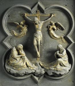 Crucifixion, Bronze Panel by Lorenzo Ghiberti