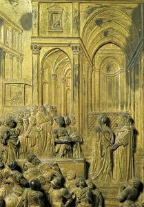 Detail from Panel by Lorenzo Ghiberti