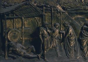Drunkenness of Noah, Panel by Lorenzo Ghiberti