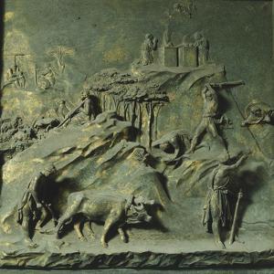 First Mens' Work, Panel by Lorenzo Ghiberti
