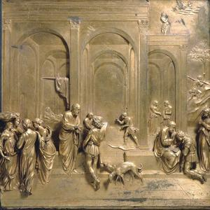 Jacob and Esau from the Gates of Paradise by Lorenzo Ghiberti