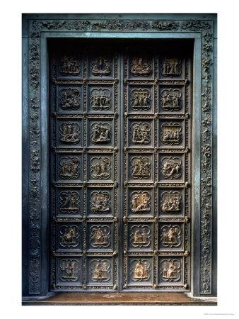 North Doors of the Baptistery of San Giovanni, 1403-24