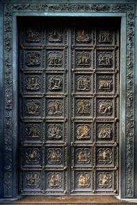 North Doors of the Baptistery of San Giovanni, 1403-24 by Lorenzo Ghiberti