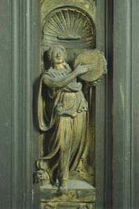 Prophetess, Panel by Lorenzo Ghiberti