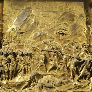 Saul and David, Detail Stories from the Old Testament by Lorenzo Ghiberti