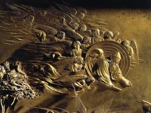 The Creation, Detail from the Stories of the Old Testament by Lorenzo Ghiberti