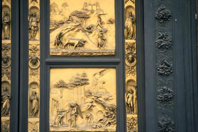 The Gates of Paradise, Baptistry, Florence, Italy, 1425-1452