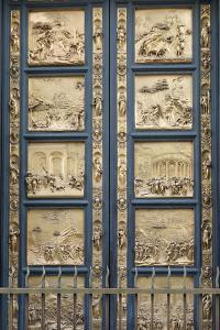The Gates of Paradise in the Florence Baptistry (Cop), 1425-1452 by Lorenzo Ghiberti
