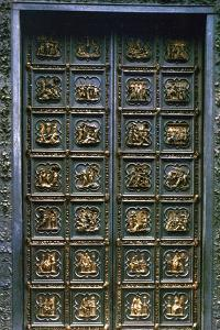 The North Doors of the Baptistry of San Giovanni, 1403-1424 by Lorenzo Ghiberti