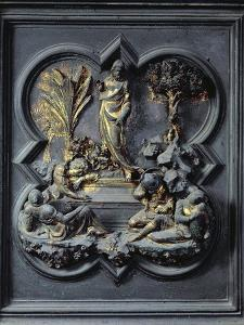 The Resurrection of Christ, Nineteenth Panel of the North Doors of the Baptistery of San Giovanni by Lorenzo Ghiberti