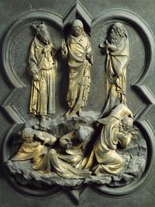 Transfiguration, Bronze Panel by Lorenzo Ghiberti