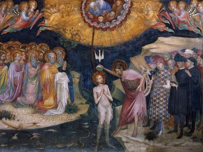 Scenes from the Life of Saint John the Baptist, Baptism of Jesus