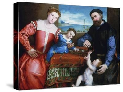 Giovanni Della Volta with His Wife and Children, C1547