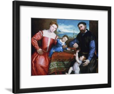 Giovanni Della Volta with His Wife and Children, C1547