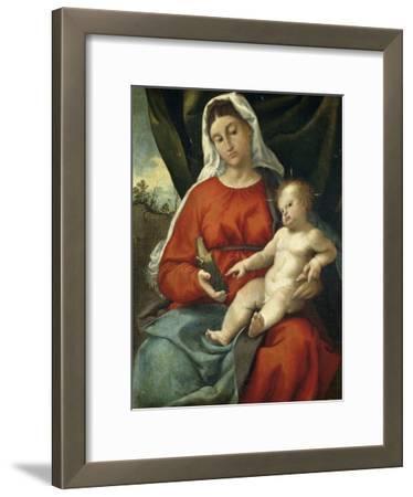 Madonna and Child, 1526-1527