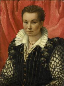 Portrait of a Woman. by Lorenzo Lotto