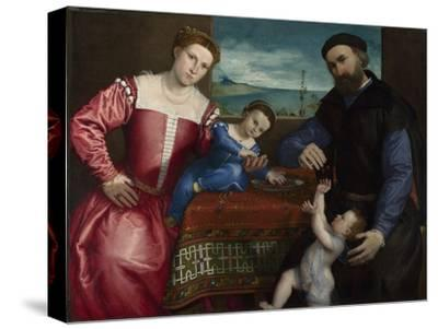 Portrait of Giovanni Della Volta with His Wife and Children, 1547