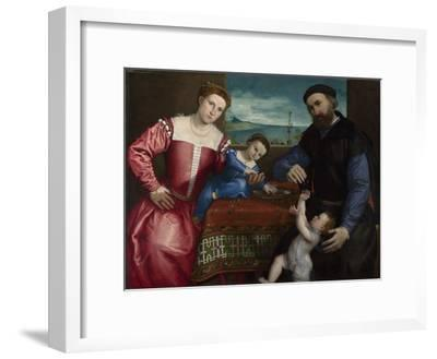 Portrait of Giovanni Della Volta with His Wife and Children, 1547